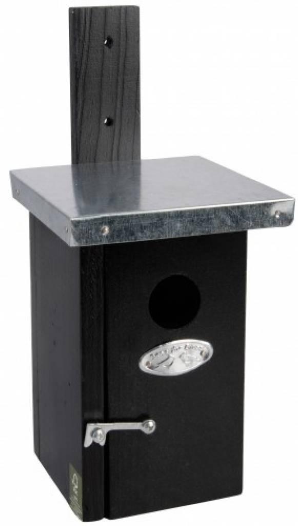 moderne vogelh uschen um in der farbe schwarz. Black Bedroom Furniture Sets. Home Design Ideas