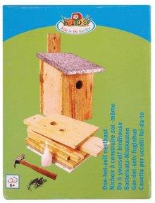 Cajas de nidificacin de las aves como un kit para comprar casas pajareras diy para golpear junto a ti mismo completos con todos los accesorios solutioingenieria Gallery