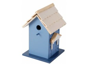 design vogel villa in der blauen 100 fsc vogelh user. Black Bedroom Furniture Sets. Home Design Ideas
