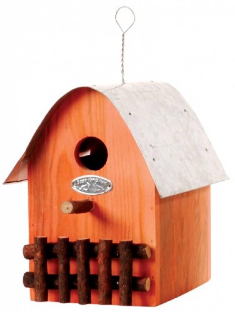 nichoirs de conception ach tent de couleur orange maisons d 39 oiseaux maisons d. Black Bedroom Furniture Sets. Home Design Ideas