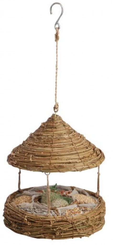 hier k nnen sie bird feeder basket mit dach kaufen. Black Bedroom Furniture Sets. Home Design Ideas