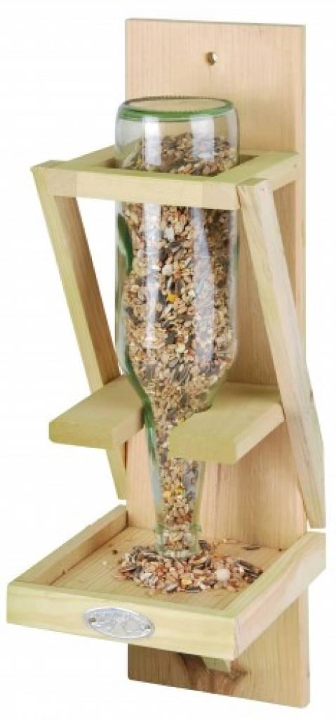 halter erdnussbutter vögel selber bauen