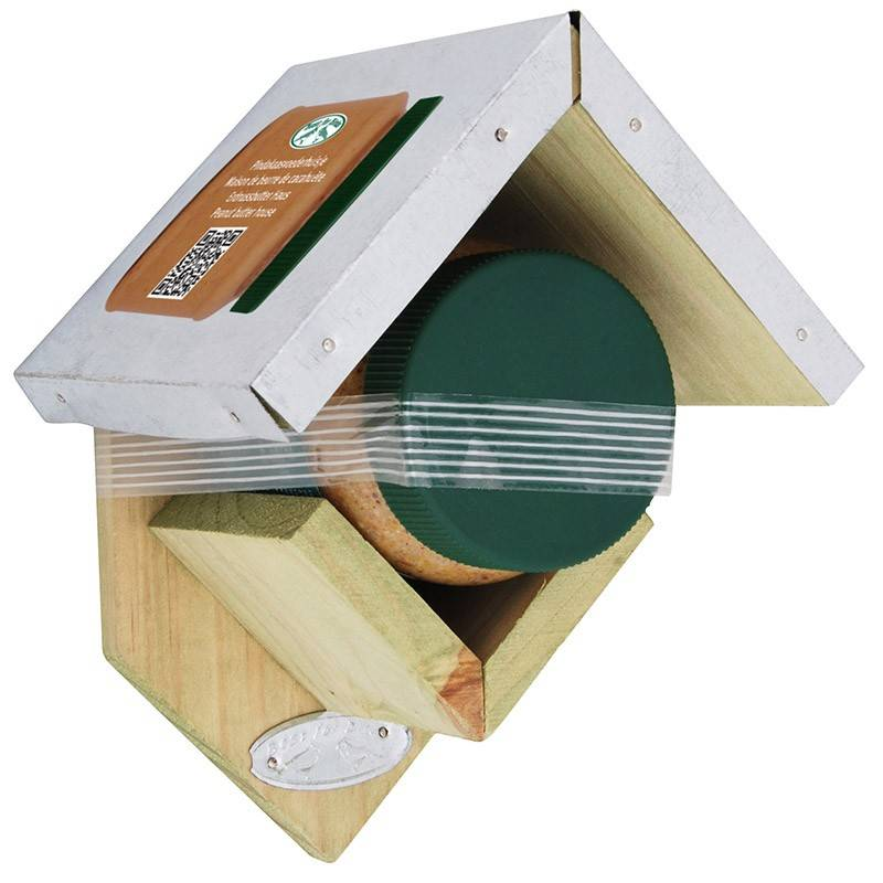 erdnussbutter cottage mit erdnussbutter f r v gel kaufen. Black Bedroom Furniture Sets. Home Design Ideas