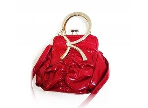 Rose Red Trendy Handbag