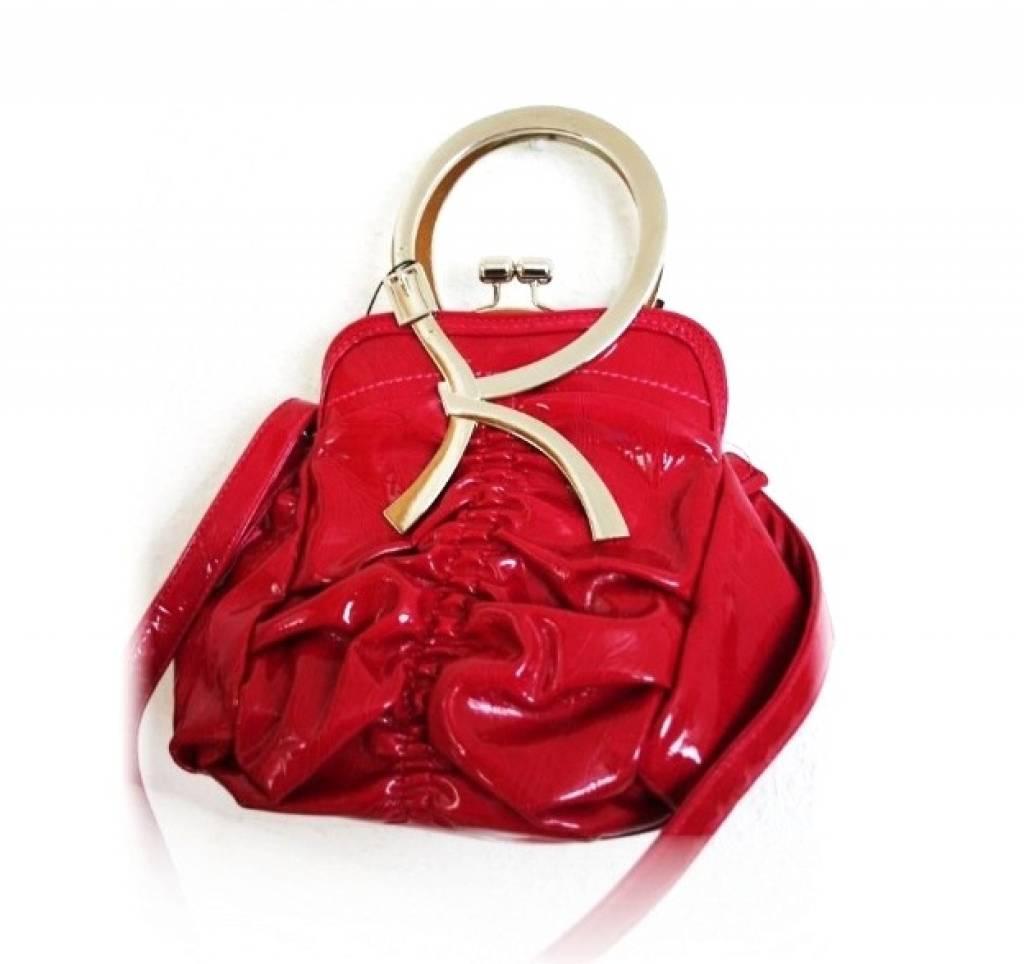 Roze Rood Trendy Handtas
