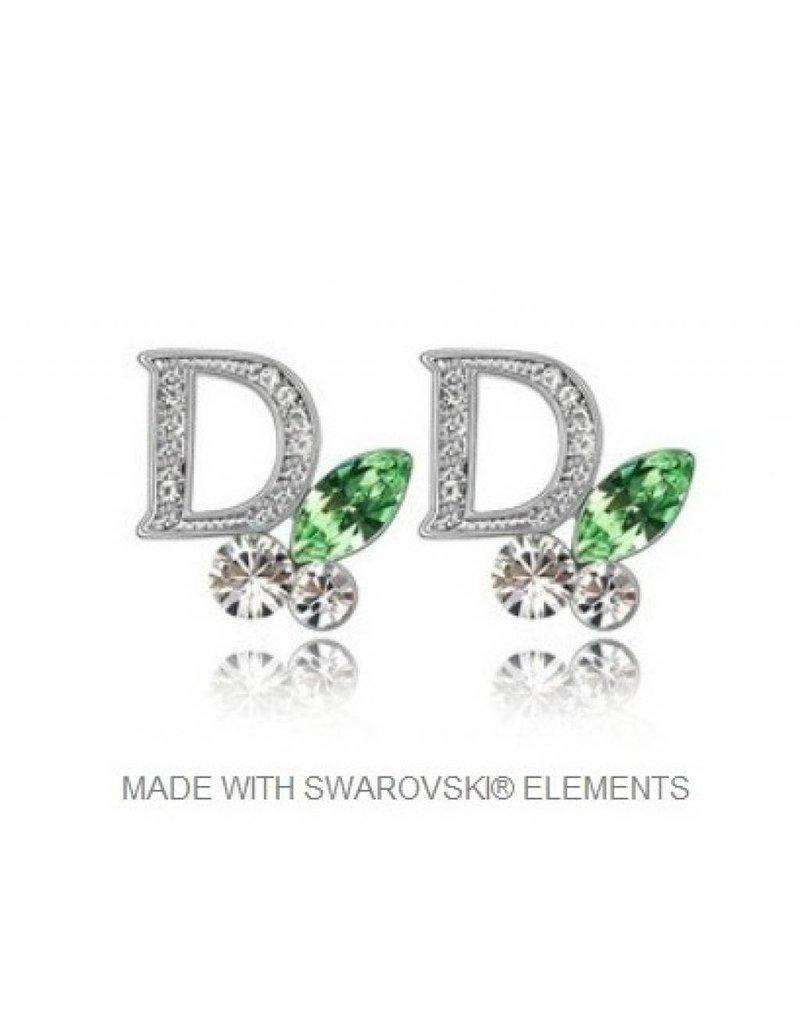Oorbellen DOR met Swarovski Elements