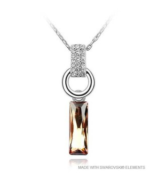 Pendant with Swarovski Elements and Necklace