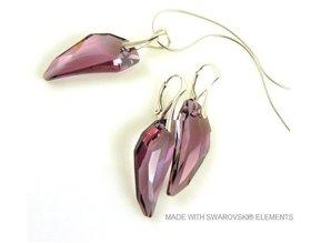 """Bijou Gio Design™ Set Silber Ohrringe und Halskette mit Swarovski Elements Pegasus """"Antique Pink"""""""