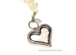 Bijou Gio Design™ Perlenarmband mit Edelstahlspeicher Medaillon, Mini-Foto* Charme und Miniperlen