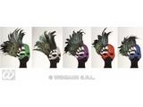 Carnival-accessories: Glitter mask Lido, in different colours