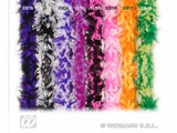 Carnival-accessories: Boa 2-colours (180cm)