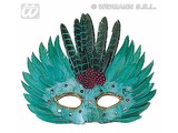 Carnival-accessories: feathers Mask