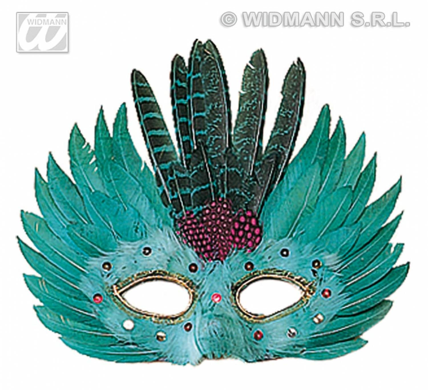 carnival accessories feathers mask fancy dress