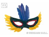 Carnival-accessories: Domino feathers, in different  colours