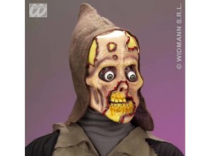 Carnival-accessories: Hessian Mask with hood, Zombie (latex)