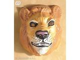 Carnival-accessories: Plastic Mask, lion