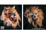 Carnival-accessories: Half-face Mask, wolf