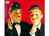 Carnival-accessories: Mask Laurel & Hardy