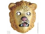 Carnival-accessories:Plastic childmask, lion