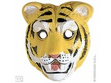 Carnival-accessories:Plastic childmask, Tiger