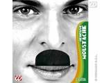 Carnival-accessories: mustache black, Chaplin