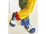 Carnival-supplies: Pair latex maxi clown Shoes adult vynil