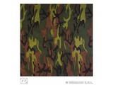 Carnival-supplies: Bandana / Handkerchief camouflage 55x55 cm