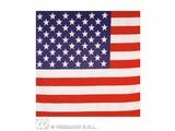 Carnival-supplies: Bandana / Handkerchief USA 55x55 cm