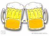 Carnival-glasses: Beer-glasses