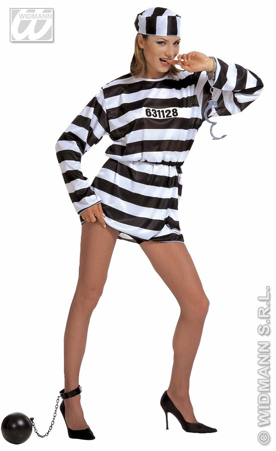 carnival accessory anckle chain ball prisoner fancy dress
