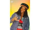 Carnival-accessory: Reggae / rasta cap