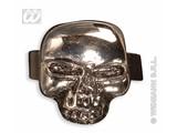 Carnival-accessory: Biker / rocker skull ring