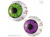 Party-articles: Set of 2 Inflatable eyes
