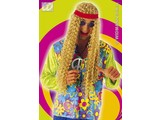 Carnival-accessory: medallion Hippy of pvc