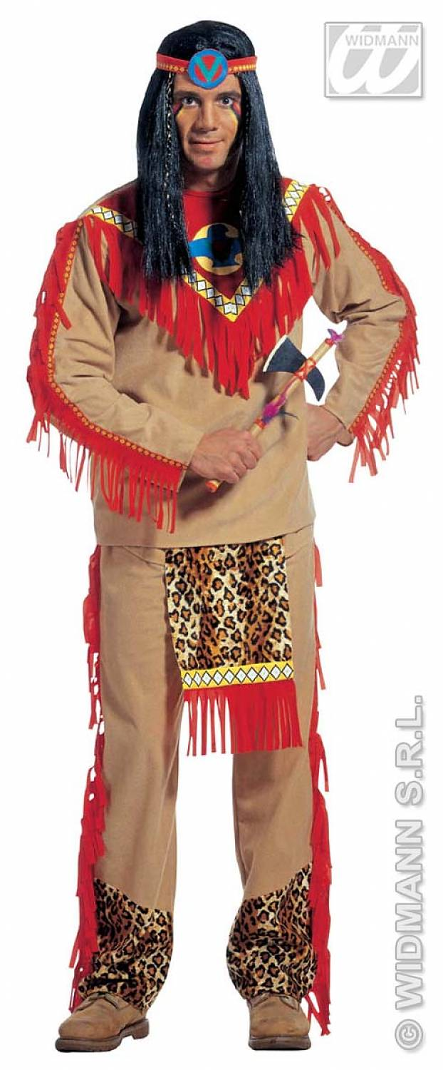 Carnival costumes indian quot sitting bull quot fancy dress