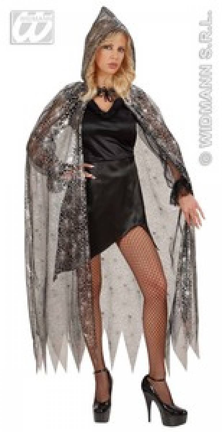 Carnival-costumes Cape cobweb with hood 136cm  sc 1 st  in the most foolish online fancy dress and accessory store & Carnival-costumes: Cape cobweb with hood 136cm - Fancy dress