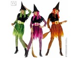 Carnival-costumes: Funky witch, velvet