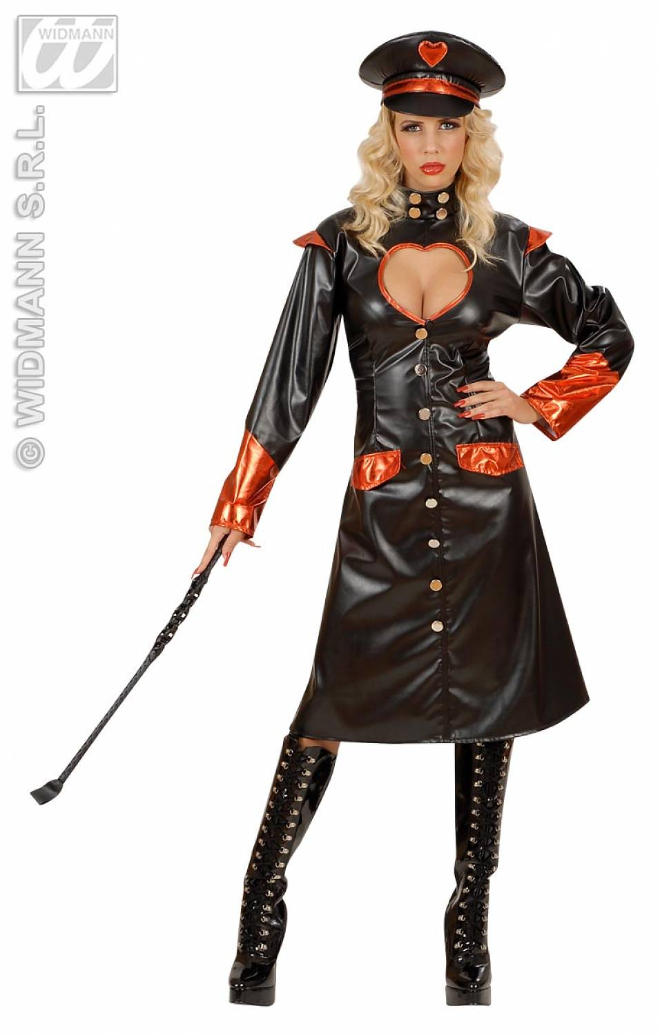 German Leather Dominatrix
