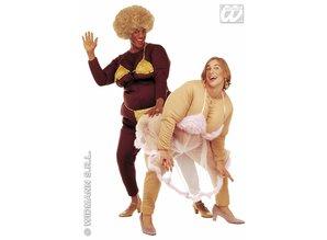 Carnival-costumes: Fat Strip-dancer