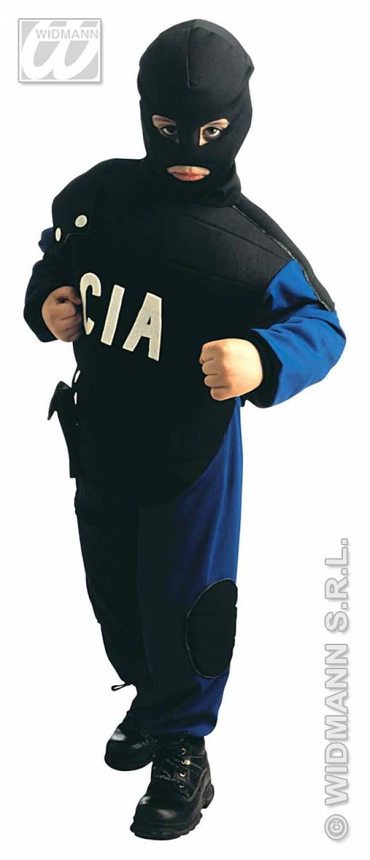 Carnival-costumes Children Special police CIA  sc 1 st  Fancy dress & Carnival-costumes: Children: Special police CIA - Fancy dress