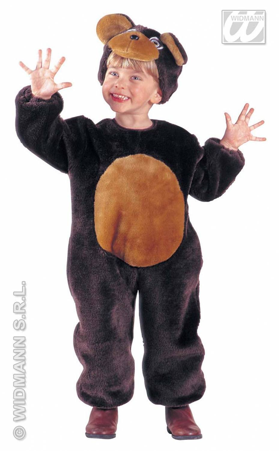 how to make a bear costume for a child