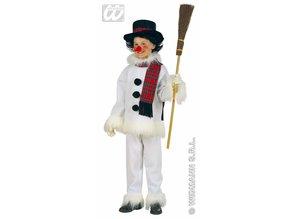 Carnival-costumes: Children:  Snowman, flannel & Plush