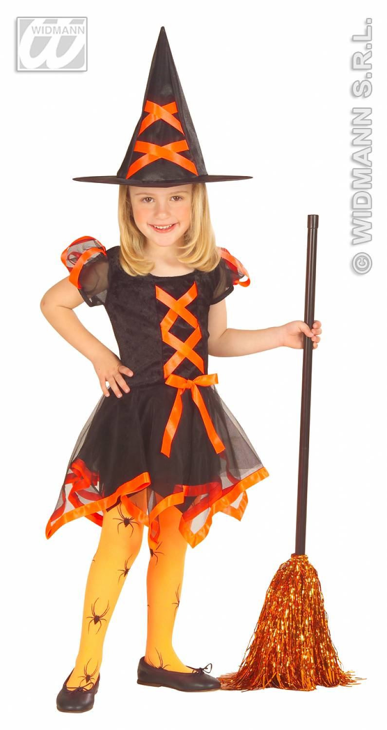 carnival costumes children witch neon fancy dress. Black Bedroom Furniture Sets. Home Design Ideas