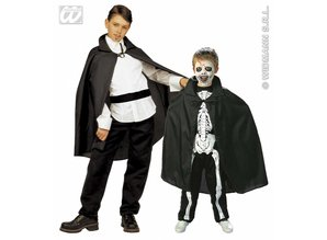 Carnival-costumes: Children: Black cape 90 cm