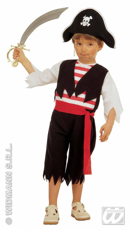 Как сделать костюм пирата в домашних условиях для мальчика
