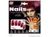 Carnival-accessories: Nails (15 pieces)