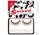 Carnival-accessories: Eyelashes black, peak