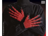 Carnival-accessory:  Gloves devil 3d