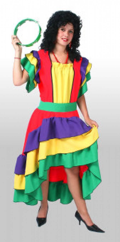 Carnival-costumes Brazilian Carmen red  sc 1 st  Fancy dress & Carnival-costumes: Brazilian Carmen red - Fancy dress