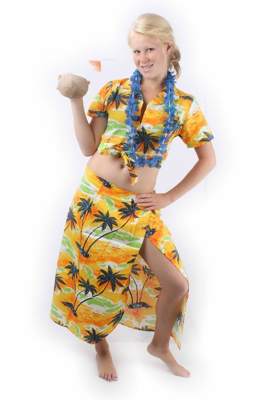 Carnival-costumes Hawaii Set Woman - Fancy Dress